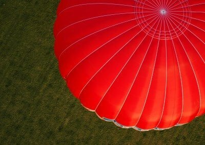 Kent Ballooning  From above
