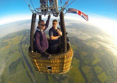 Kent Ballooning  Training Flight