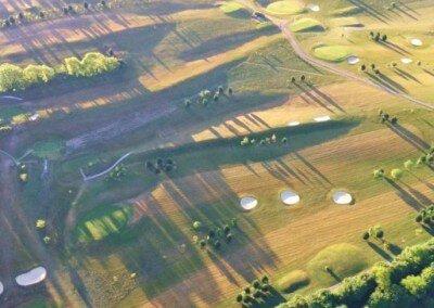 Kent Ballooning  Golf Course Shadows