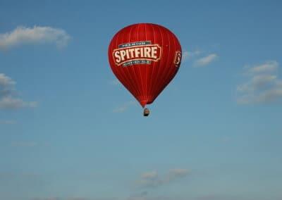Kent Ballooning  Blue skies
