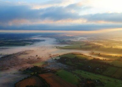 Kent Ballooning  Misty Mornings