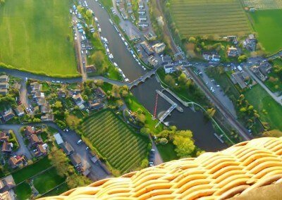 Kent Ballooning |Rivers below