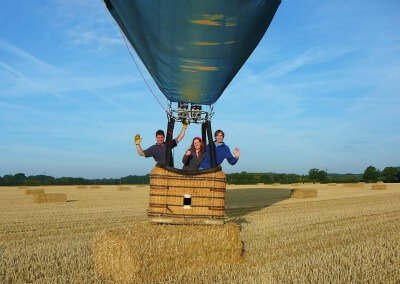 Kent Ballooning | Haybale Landing