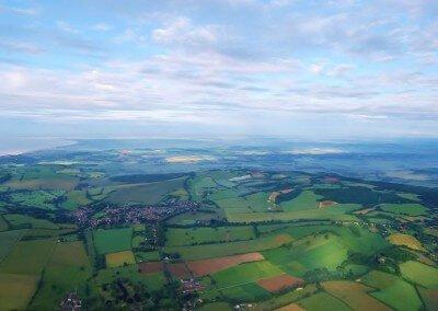Kent Ballooning   Map of fields