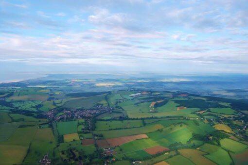 Kent Ballooning | Map of fields