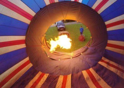 Kent Ballooning | VIP flames in
