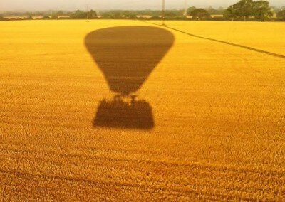 Kent Ballooning | Yellow shadows