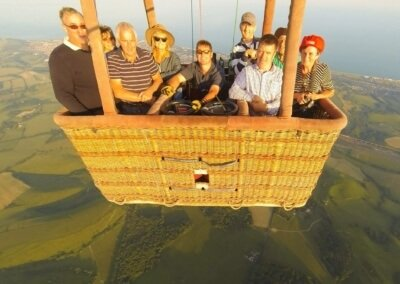 Kent Ballooning | Basket of 8