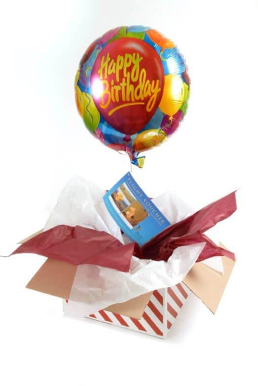 Kent Ballooning   Balloon in a box