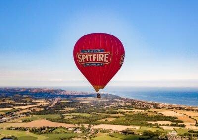 Kent Ballooning   Coastline